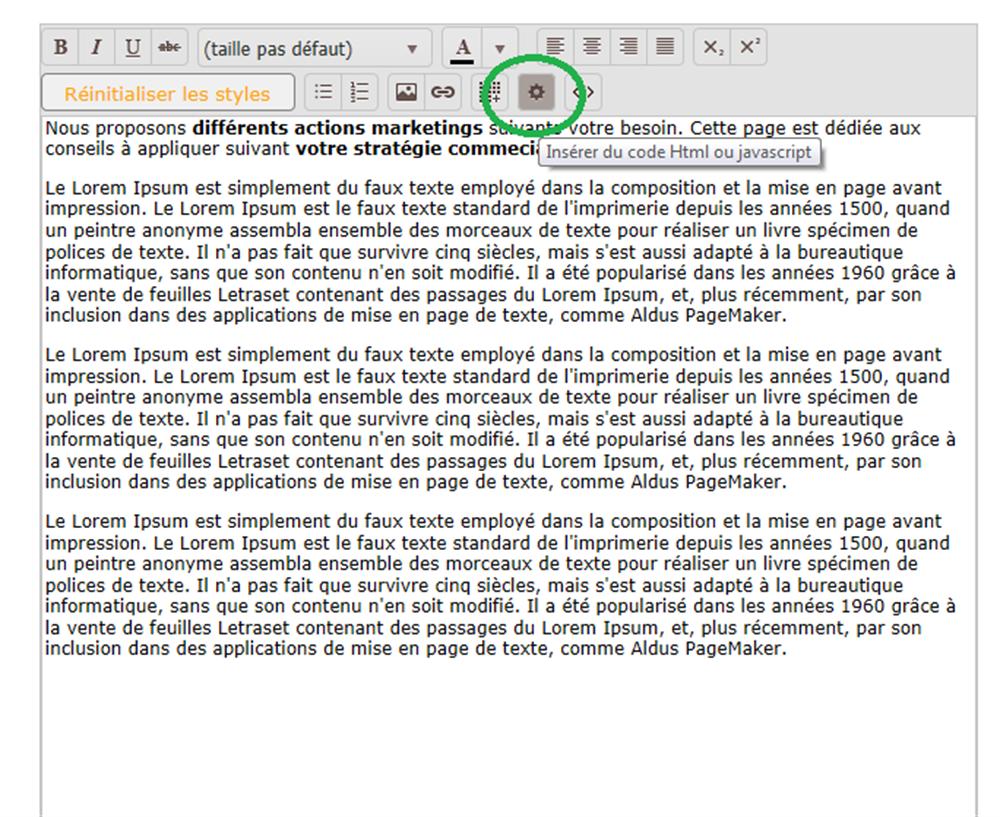 bouton html fermeture de page site web