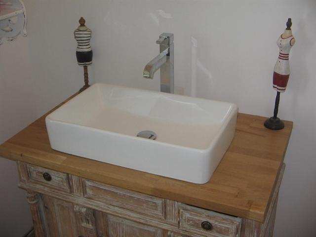 Meuble vasque for Meuble une vasque