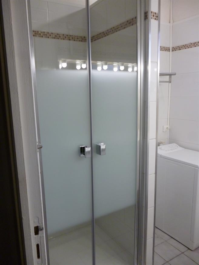 la nouvelle salle d'eau