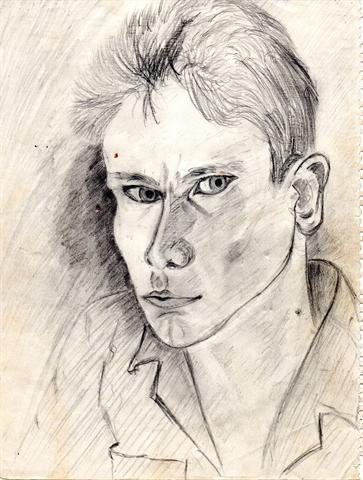 autoportrait. 1957