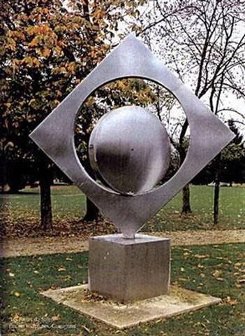 PORTE DU SOLEIL parc de sculptures de Gueugnon