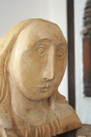 Vierge ouvrante (Détail)