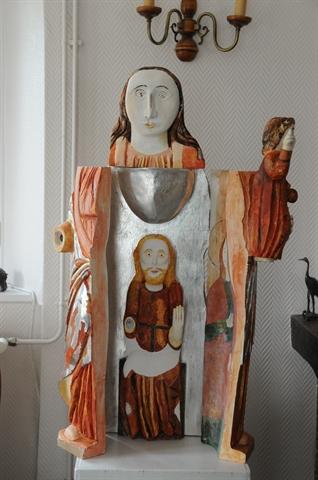 Vierge Ouvrante