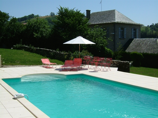 G te rural avec piscine pr s d 39 aurillac cantal for Aurillac piscine