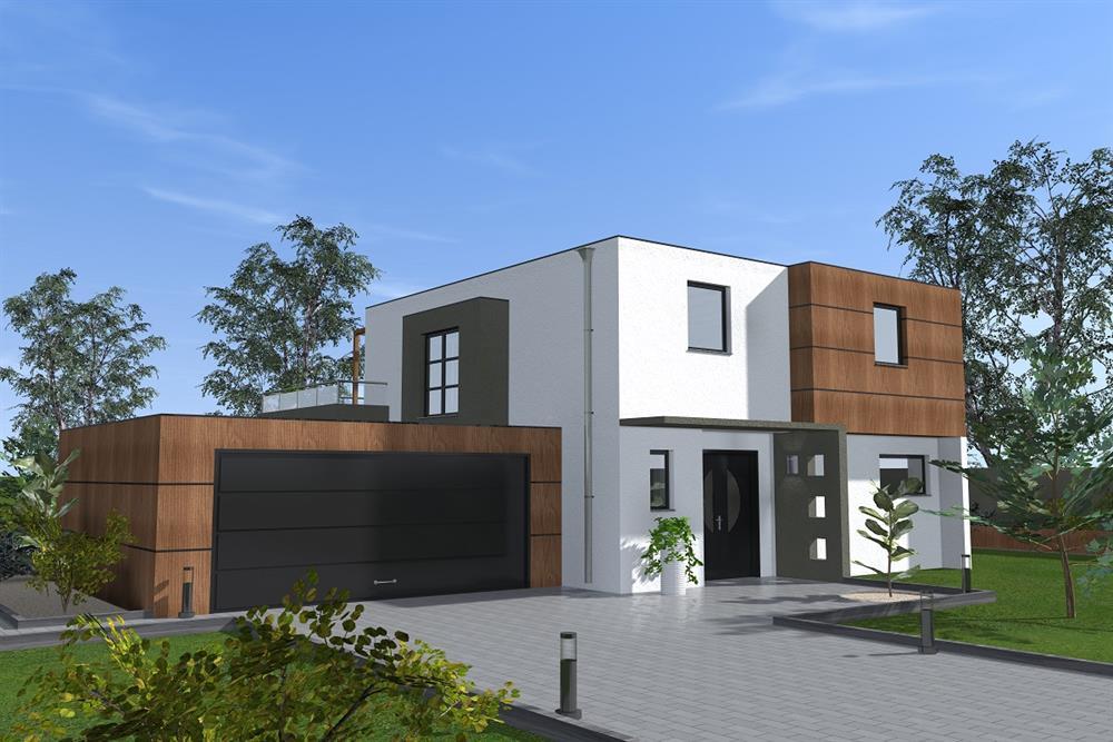 Vente Maison A Brunstatt A Toit Plat De 120m2 Avec Garage